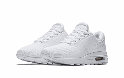 Big Kids Nike Air Max Zero Essential White/White/Wolf Grey/Pure Platinum (4 M US Big Kid) by NIKE