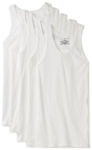 Tommy Hilfiger Men's 5 Pack Tank Tee, White, Large (Hilfiger Tommy Vans Men)