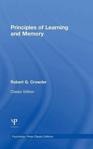 Principles of Learning and Memory: Classic Edition (Psychology Press & Routledge Classic Editions)