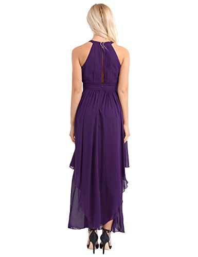 Damen kleid lila festlich