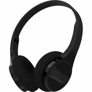 hype slim over ear bluetooth headphones black electronics. Black Bedroom Furniture Sets. Home Design Ideas