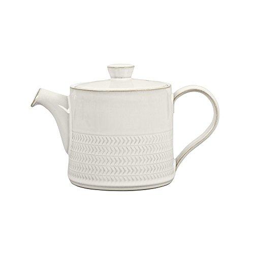 (Denby USA Natural Canvas Textured Teapot )