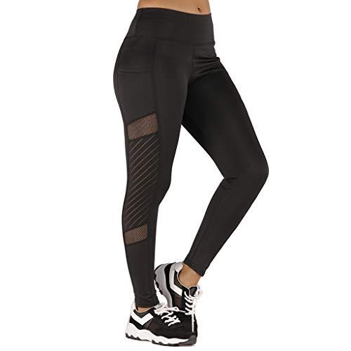[해외]HIKO23 Yoga Pants for Women Casual Mesh Cut Out High Waist Tummy Control Workout Running Skinny Slim Leggings / HIKO23 Yoga Pants for Women Casual Mesh Cut Out High Waist Tummy Control Workout Running Skinny Slim Leggings