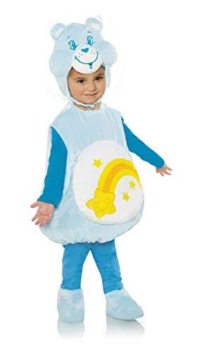 Underwraps Kid's Care Bears Wish Bear Toddler's Costume Childrens Costume, White, Large