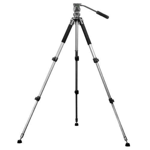 BARSKA Professional Tripod, Extendable to 66'' w/ Carrying Case by BARSKA (Image #3)