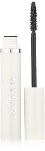COVERGIRL Exact Eyelights Mascara Black Pearl For Brown Eyes 700, .24 oz (packaging may vary)