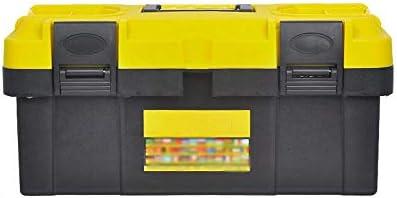 ChenCheng ツール収納ボックス - 多機能部品修理ツール収納ボックス車のポータブルツールボックスポータブル ツールボックスストレージと組織 (Size : 37.5cmx17cmx20cm)