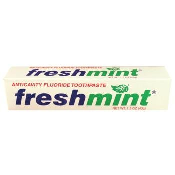 1.5 oz Fluoride Toothpaste Case Pack 144 by Freshmint