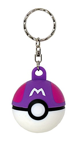 Master Keychain - Loungefly Pokemon Pokeball 3D Keychain (Master Ball)