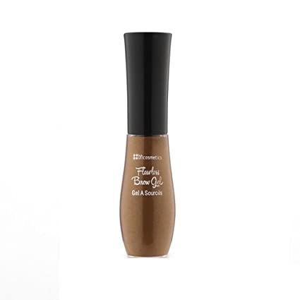BH Cosmetics Flawless Brow Gel Dark Brown, 1 Count