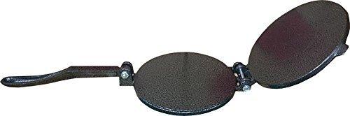 Bioexcel,80003W, Cast Iron Tortilla Press, Black, 6.5-Inches
