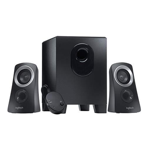 Logitech Z313 2.1 Multimedia Speaker Systeem met Subwoofer, Full Range Audio, 50 Watt Piekvermogen, Diepe Bas, 3.5 mm…