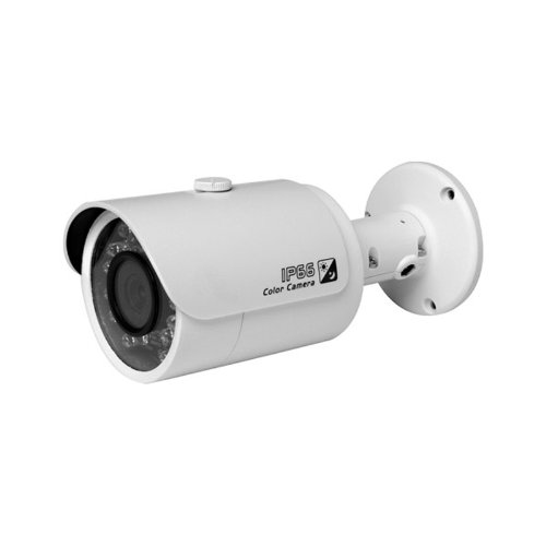 Dahua IPC-HFW1100S 3.6mm 720P Bullet IR Network IP POE Camera. POE Box is on Cable or 12V