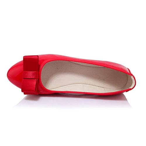 Compensées 36 EU Femme Rouge BalaMasa Red Sandales APL10806 5 EOqTTWvz8
