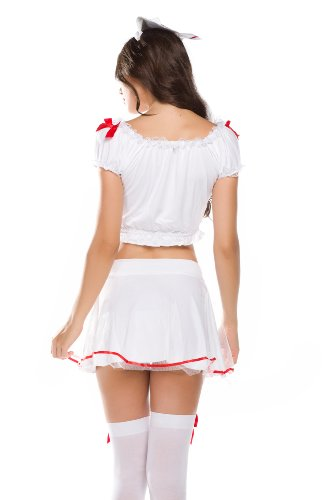 Amour- Naughty Role Play Nurse Costume Sexy Lingerie Valentine Gift