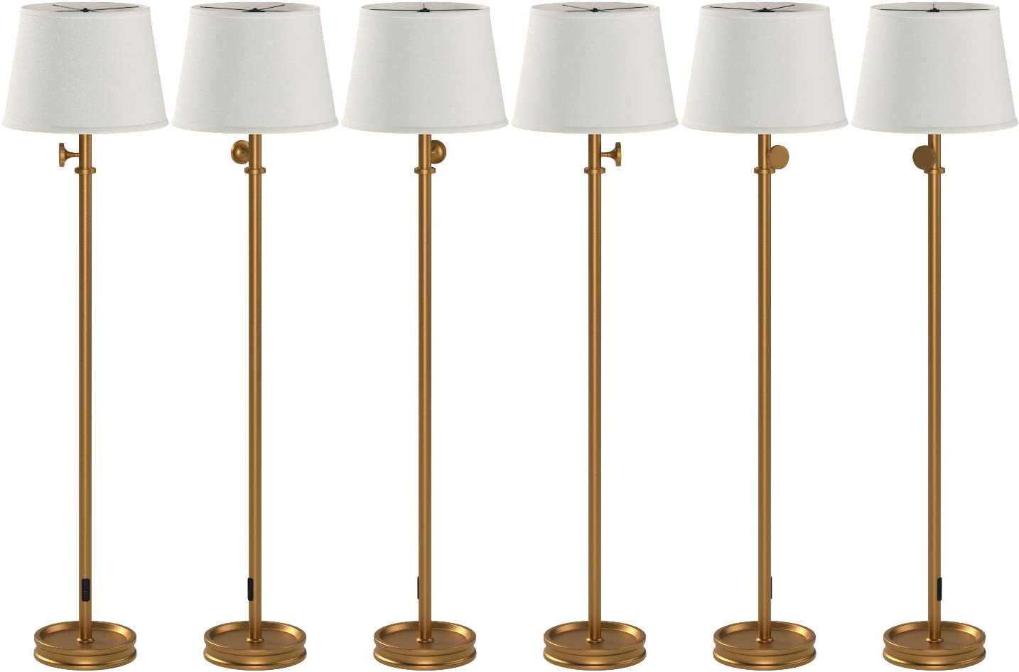 Stone & Beam Modern Traditional Living Room Table Desk Lamp With
