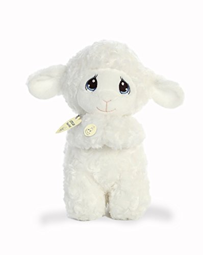 (Aurora World Precious Moments Musical Plush Toy Animal, Luffie Prayer Lamb, 10