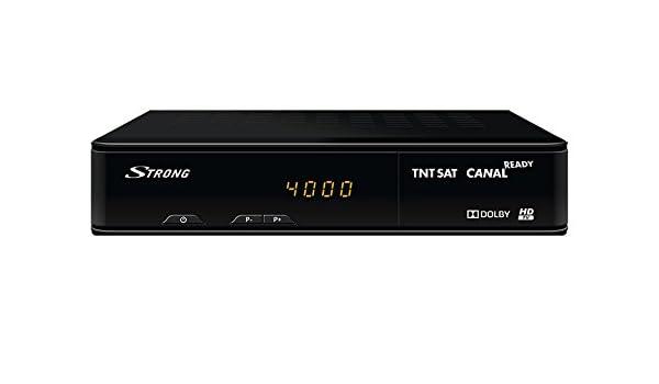 Receptor Satélite TNTSAT HD Strong 7404 sin Tarjeta: Amazon ...
