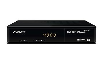 Receptor Satélite TNTSAT HD Strong 7404 sin Tarjeta: Amazon.es ...