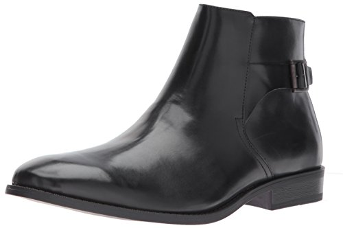 Unlisted by Kenneth Cole Men's Design 30135 Chelsea Boot, Black, 11 M US
