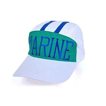 White Baseball & Snapback Hat For Unisex