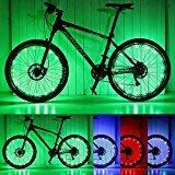 Luces para ruedas de bicicleta, de Pamase. Impermeable. Tira LED 20. Para