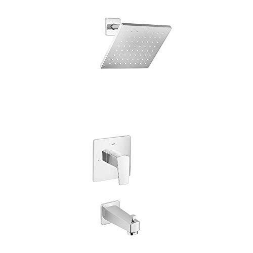 Grohe Tub Shower Faucets - GROHE 35097000 Tallinn Single Handle 1 Spray Bathtub Shower Faucet in Starlight Chrome