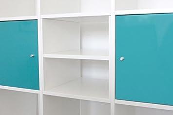 Ikea regal weiß  Extra Fach für Ikea Kallax Regal (weiß): Amazon.de: Küche & Haushalt