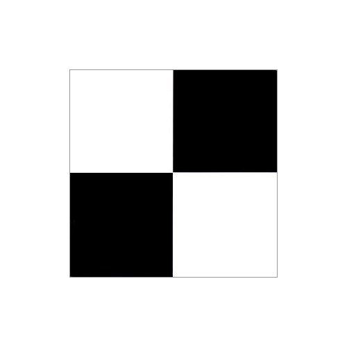 NEXUS 12x12 Self Adhesive Vinyl Floor Tile - 20 Tiles/20 Sq.Ft. (Black & ()