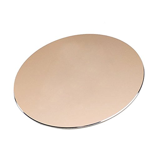 NewBull Aluminium Gaming Mouse Pad Non-slip Dual Surface Available for Fast and Accurate Control (Gold)
