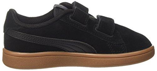 Black Puma Mixte Puma puma Smash asphalt Enfant PS Sneakers SD Black Basses Noir V2 V f4Pq1rfw