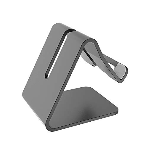 CASEIER Desk Mobile Phone Mount Holder – Desktop Cell Phone Stand Universal For iPhone 11 Pro XS Max Samsung S20 S20…