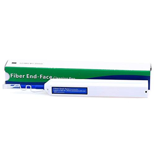 Fiber End-Face Cleaning Pen LC/MU 1.25mm Connectors Fiber Optic Cleaner Pen