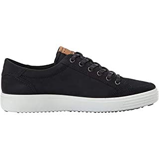 ECCO Men's Soft 7 Fashion Sneaker,black,43 EU / 9-9.5 US