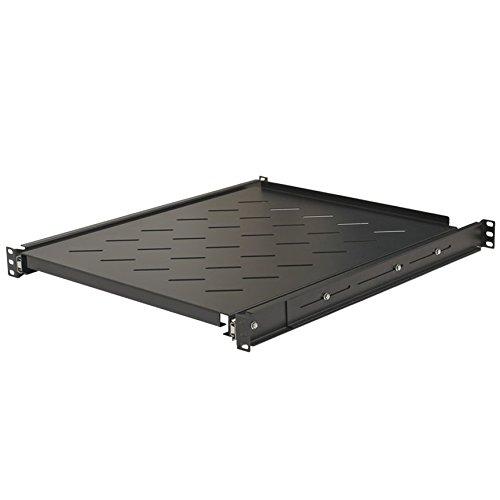 Rackmount Shelf Sliding - NavePoint Sliding Rack Vented Server Shelf 1U 19