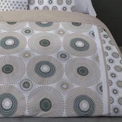 LINGE USINE Parure de lit Mathieu Flanelle 4 Pieces 240 x 300 pour lit de 140 x 190 cm