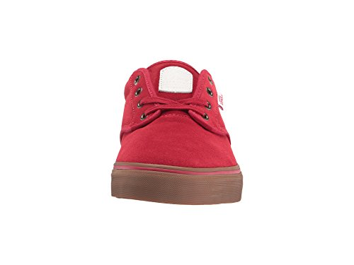 Vans Mens Chima Egendom Pro Scarlet / Tuggummi Skateboard Skor