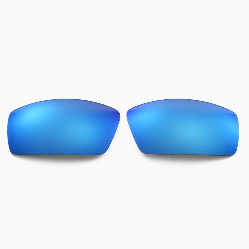 New Walleva Polarized Red+Blue Lenses For Oakley Canteen(2013&before)