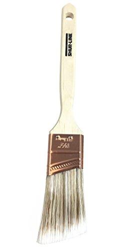 Shur-Line 70001TS15 55531N Premium Paint Brush, Poly/Nylon Blend Bristles, An, 1.5-Inch Angle