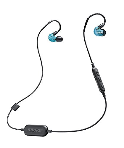 Shure SE215SPE-B-BT1 Wireless Sound Isolating Earphones with Bluetooth Enabled Communication Cable