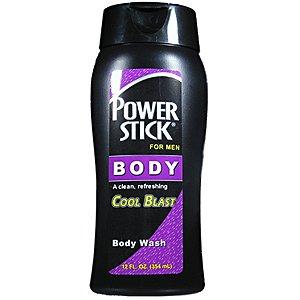 PUISSANCE DE BÂTON Body Wash souffle frais pour les hommes 12oz/354ml