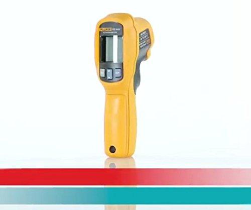 Profi IR-Thermometer -30 bis +500 °C - Infrarot Funk Wärme Messung - IP 54 Outdoor Messgerät