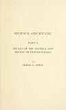 Beothuk and Micmac