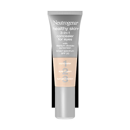 Neutrogena Healthy Skin 3-In-1 Concealer For Eyes Broad Spectrum Spf 20, Fair 05, .37 Oz. (Best Primer For Fine Lines Under Eyes)