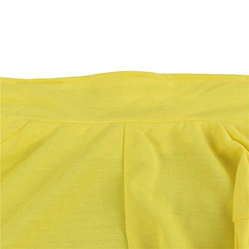 Puro Fit Autunno Ufficio Donna Con Blazer Manica Chic Giacche Giacca Primaverile Ragazza Business Lunga Tailleur Casual Gelb Colore Da Button Eleganti Slim Moda Cappotto nZETUEc