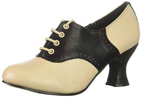 Ellie Shoes Women's 253-PEGGY Oxford, Black, 8 M US]()