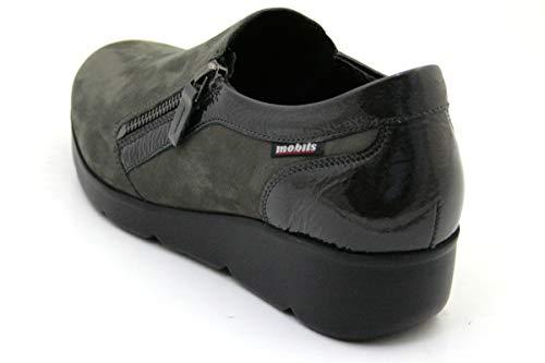724661e9dc53d3 Chaussures Éclair Semelle Fermeture Femme 6903 Garence 1059 Grey By Mephisto  Cm Bouchon Ita 40 Size Extractible Mobils 5 25 9 6 Usa Avec ...