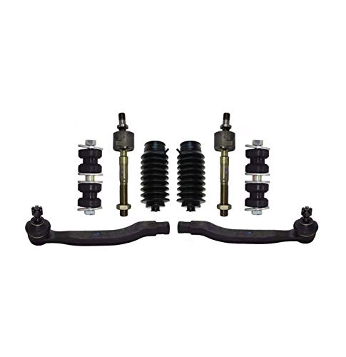 - PartsW 8 Pc Front Suspension Kit for Acura CL, Honda Accord, Honda Odyssey, Isuzu Oasis/Inner & Outer Tie Rod End, Rack & Pinion Bellow Boots, Sway Bar End Link