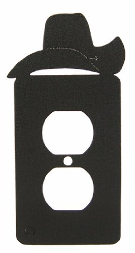 Cowboy Hat Power Outlet Plate Cover