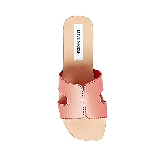 8 Sandal Women's 0 Leather Sayler Coral Madden Us Steve XFqYw